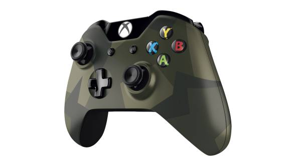 XboxOne armed forces camouflage controller pictures