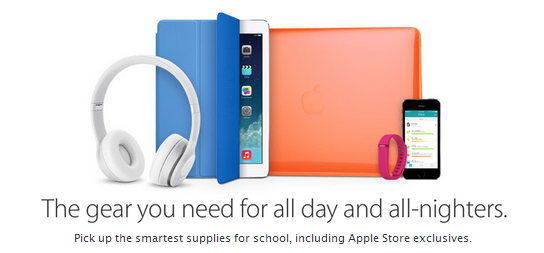 apple back to school 2014 deals on ipad, iphone