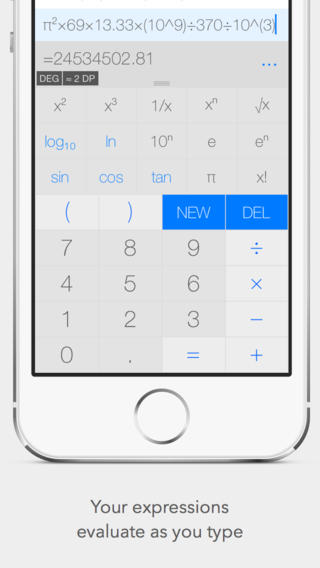 calco scientific calculator app