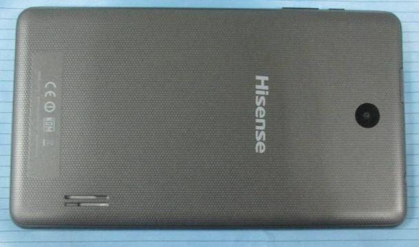 hisense sero 7 plus back pics