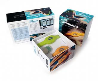 iswimband specs box package pics