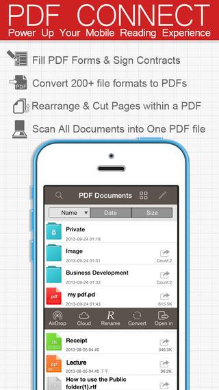 pdf connect app