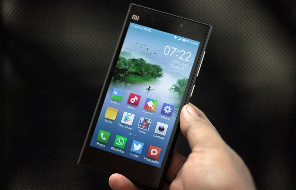 xiaomi mi3 phone pictures