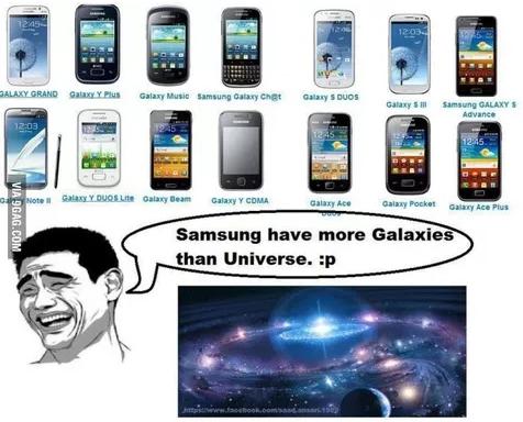 samsung galaxy count meme