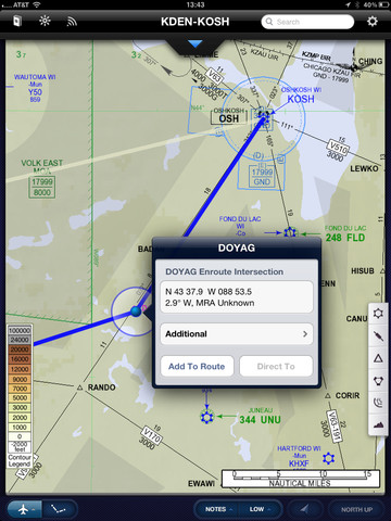 Jeppesen FD app for pilots