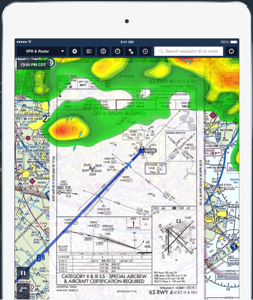 foreflight app for pilots