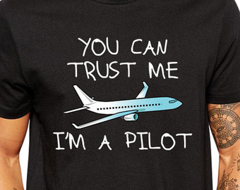 pilot tee-shirt