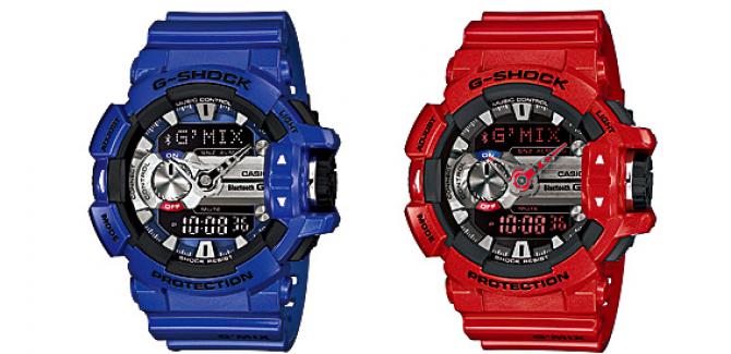 Casio G-Shock GBA-400 watch - Blue, Black