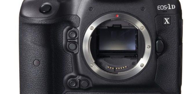 Canon DSLR EOS-1D X Camera
