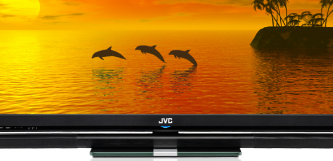 55-inch JLE55SP4000 3D Television from JVC