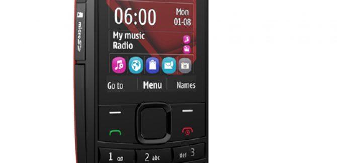 Nokia X2-01 Music phone with Dual-Sim capabilities