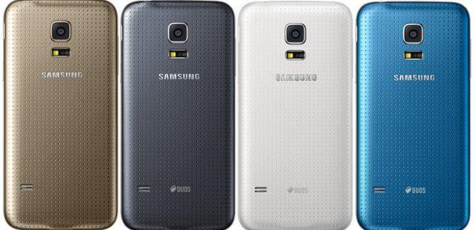 Samsung Galaxy S5 mini colors