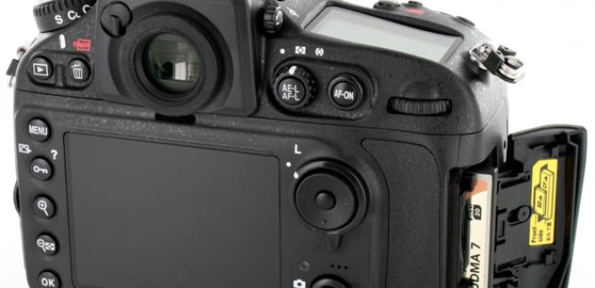 Nikon D810 DSLR Camera LCD Pictures