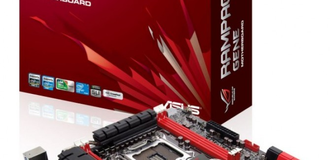 ASUS ROG Rampage IV GENE Motherboard India Price, Pictures