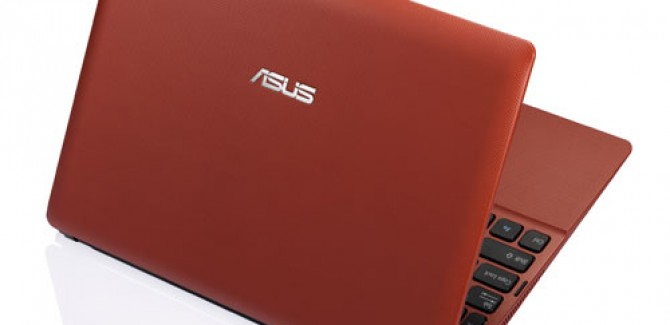 Asus Eee PC X101 - Red
