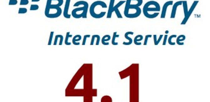 BlackBerry Internet Service (BIS) 4.1 Logo