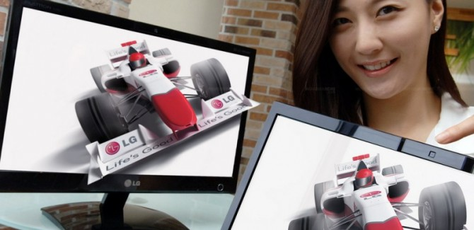 LG DX2000 3D Monitor with Eye-Tracking - No need of wearing any eye gear