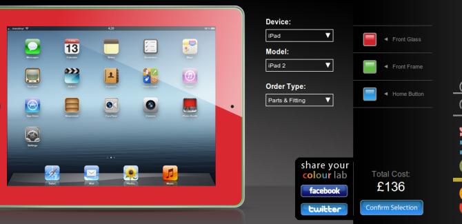 MendMyi Colour Lab lets you colour your - iPad, iPhone