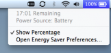 Macbook Air Battery Life - 17 hours