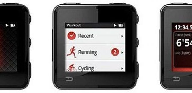 Motorola KORE Fitness Device come Music Player