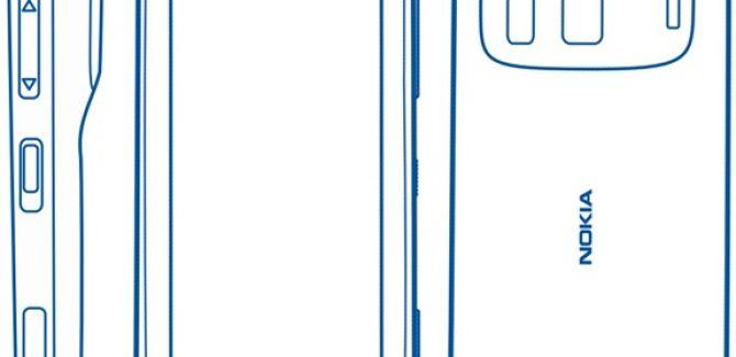Nokia N803 (Successor to N8) Wireframe