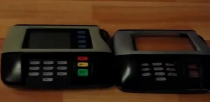 POS Swipe Card Skimmer - kept aside