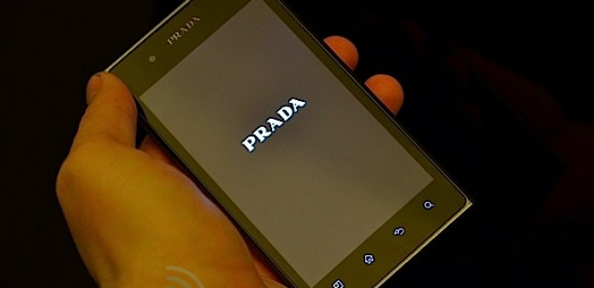 LG Prada 3.0 Smart phone - Front View