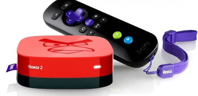 Play Angry Birds Game on your TV using Roku 2 XS Console