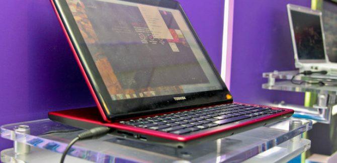 Toshiba Portege M930 Slider Laptop - Front View