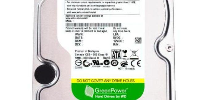 WD 2.5TB / 3TB Internal SATA Hard Disk drives