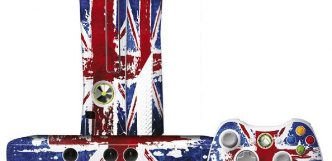 XBOX 360 Union Jack England Edition